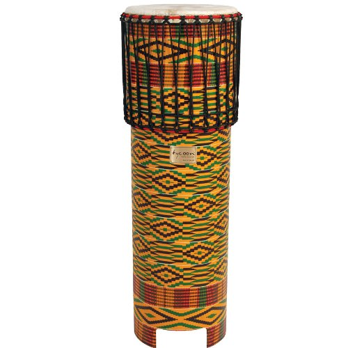 Tycoon Percussion TDD-NGDWS Kente Finish Ngoma Drum from Tycoon Percussion