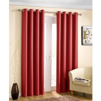 Wetherby Ready Made Blockout Curtains Red from Tyrone Ready Made Curtains