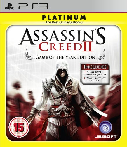 Assassins Creed II: Game of The Year - Platinum Edition (PS3) from UBI Soft