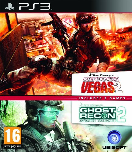 Rainbox Six Vegas 2 & Ghost Recon Advanced Warfighter 2 (Double Pack) /PS3 by Ubisoft from UBI Soft