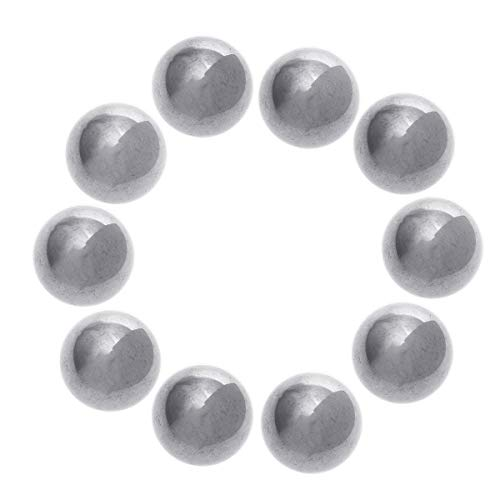 UEETEK 10pcs 15mm Diameter Carbon Steel Ball Bearings from UEETEK