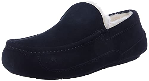 UGG Men's Ascot Slipper, Black, 6 UK from UGG