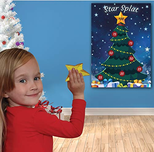 Christmas Family Game .•:*¨ STAR SPLAT ¨*:•. Family, Kids, Children, Office Xmas Party Game from UK Party Games