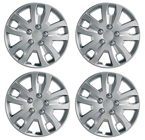 "UKB4C Set 4 x Deep Dish Commercial 15"" Wheel Trims Hub Caps fits Fiat Doblo from UKB4C"