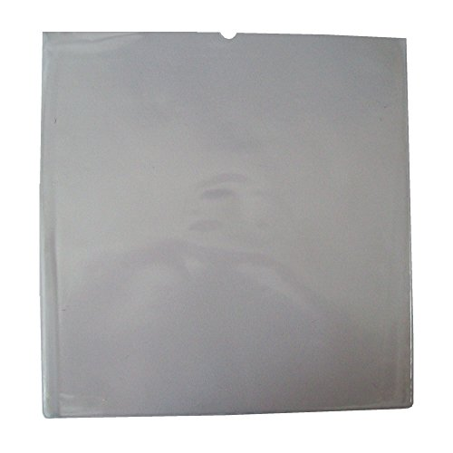 "25 LARGE STRONG 12"" LP CLEAR 'ORANGE PEEL FINISH' PVC PLASTIC RECORD VINYL SLEEVES COVERS PROTECTORS 180 MICRON - SIZE 328 x 328mm - TRANSPARENT DISPLAY WALLETS WITH FINGER CUT OUT / THUMB HOLE - SCRATCH / MARK PROTECTION - PROTECTIVE PACKAGING - SCRATCHING MARKING PREVENTION from UKPS"