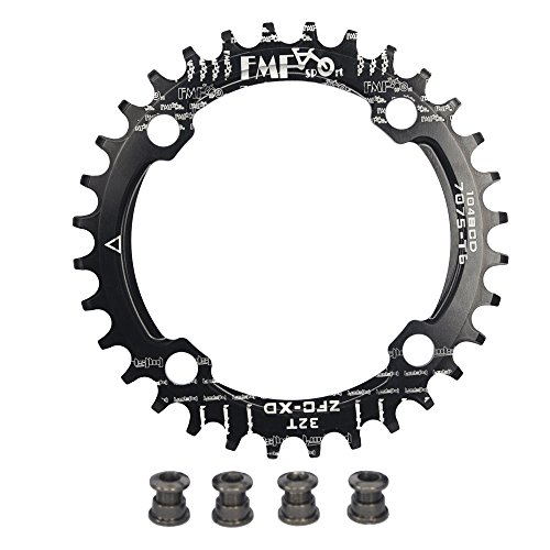 UPANBIKE Bike Narrow Wide Chainring 104 BCD Round Shape Single Chain Ring 32T 34T 36T 38T from UPANBIKE