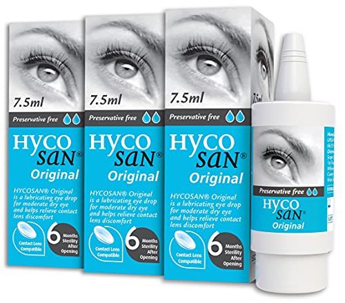 Triple Pack of Hycosan Eye Moisturiser Drops from Hycosan