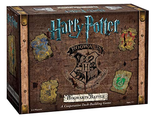 USAopoly DB010-400 Harry Potter Hogwarts Battle Deck Building Game from USAopoly