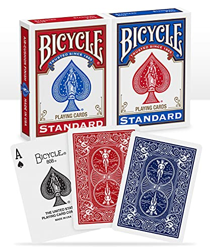 Bicycle Standard Index Playing Cards - Pack of 2 from Bicycle