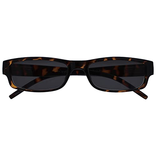 The Reading Glasses Company Brown Tortoiseshell Lightweight Sun Readers UV400 Mens Womens S32-2 +1.00 from The Reading Glasses Company