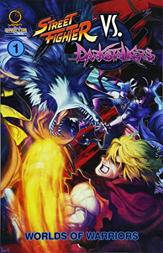 Street Fighter VS Darkstalkers Vol.1: Worlds of Warriors from Udon Entertainment