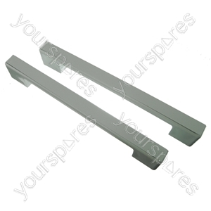 2 x Universal White Fridge Freezer Door Handle 240mm-275mm from Ufixt