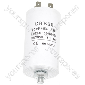 Capacitor 16Uf from Ufixt
