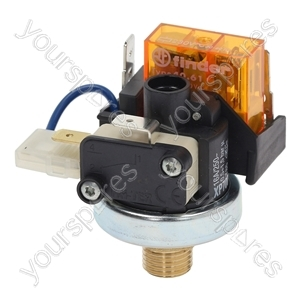 "Fiorenzato C.s. Coffee Machine Pressure Switch Xp700 0.5-1.5 Bar 1/4"" from Ufixt"