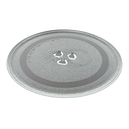 Ufixt® Fits Morphy Richards, Panasonic, Russell Hobbs, Sainsburys, Samsung, Sanyo, Sharp and Swan Universal Microwave Turntable 245mm 9.5 Inches 3 Fixings Dishwasher Safe from Ufixt
