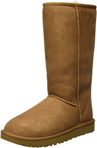 UGG Female Classic Tall II Classic Boot, Chestnut, 4 (UK) from UGG