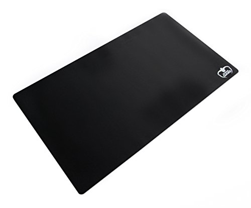 Ultimate Guard 61 x 35 cm Monochrome Play Mat (Black) from Ultimate Guard