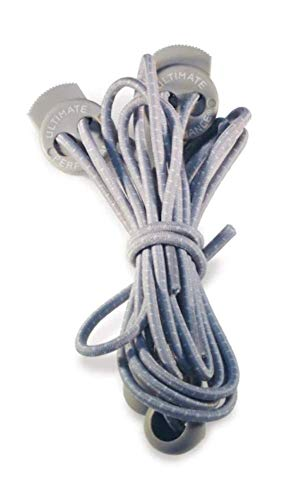 Ultimate Performance Unisex's Reflective Laces, Silver, One Size from Ultimate Performance