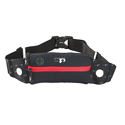 Ultimate Performance Titan Runners Waist Pack - Black/Red, One Size from Ultimate Performance