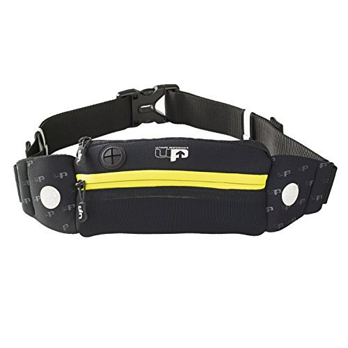 Ultimate Performance Men's Titan Runners Waist Pack-Black/Yellow, One Size from Ultimate Performance