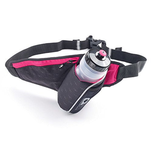 Ultimate Performance Unisex's Ribble II Hydration Waist Pack, Black/Pink, One Size from Ultimate Performance