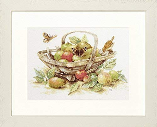 Lanarte PN 0007960 counted cross stitch kit, summer fruit, just woven. from Unknown