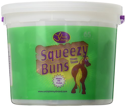 SQZY BUNS HORSE TREATS3# by SQUEEZY BUNS MfrPartNo UJSBL from Uncle Jimmys