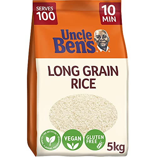 Uncle Bens Long Grain Rice 5kg from UNCLE BEN'S