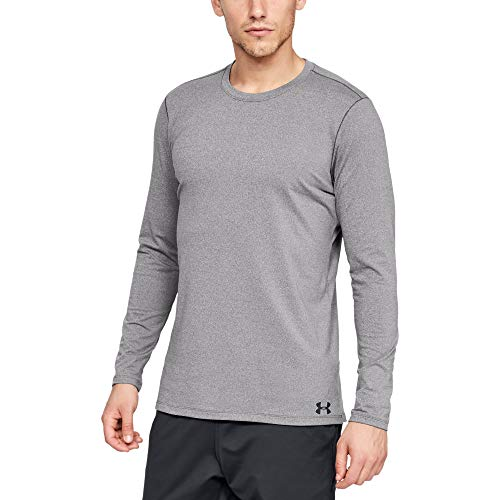 Under Armour Fitted ColdGear Crew, Warm Functional Shirt for Men, Lightweight Tight-Fit Long-Sleeve Sports Top Men from Under Armour