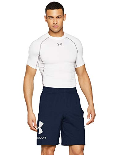 Under Armour Sportstyle Cotton Logo Shorts, Running Shorts Made of Breathable Material, Workout Shorts with Ultralight Design Men from Under Armour