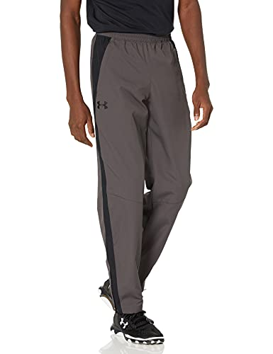 Under Armour Men's Sport Style Woven Pant Trousers, Grey (Charcoal), S from Under Armour