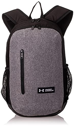 Under Armour UA Roland, Laptop Backpack, Stylish Waterproof Bag, Graphite Medium Heather/Black/White, One Size from Under Armour