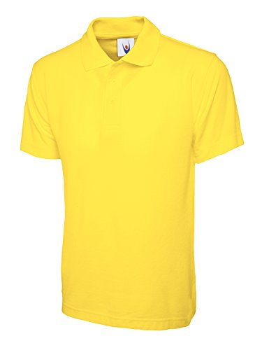 UC103 - Yellow - 11/13 yrs - 220GSM Childrens Poloshirt from Uneek clothing