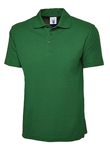 Uneek 220Gsm Unisex Classic Polo Shirt - Kelly Green - Small from Uneek clothing