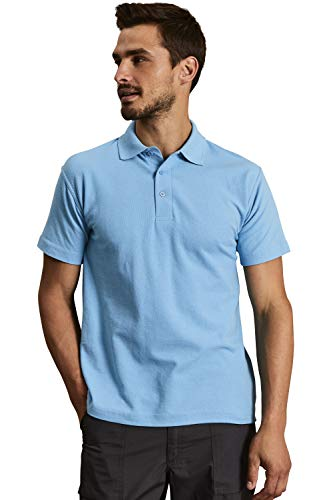 Uneek 220Gsm Unisex Classic Polo Shirt - Sky - X-Small from Uneek clothing