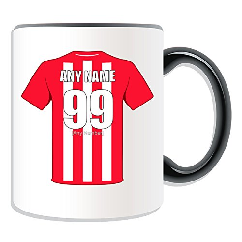 UNIGIFT Personalised Gift - Stoke Mug (Football Design Theme, Colour Options) - Any Name/Message on Your Unique Mug - The Potters City Club from UNIGIFT