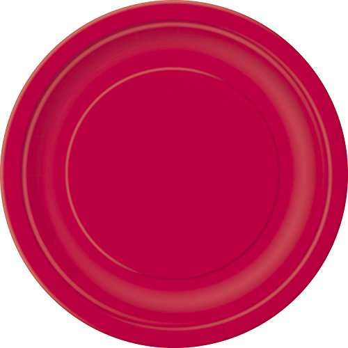 "Unique Party 31454 7"" Round Dessert Plates 