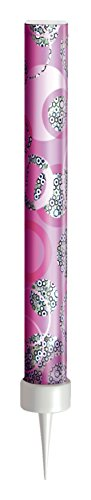 Unique Party 37327 - Glitz Pink Birthday Fountain Candles, Pack of 3 from Unique Party