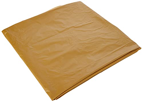 Unique Party 5084 5084-Gold Plastic Tablecloth, 9ft x 4.5ft, Gold, Pack of 1 from Unique Party