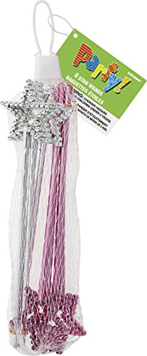 Unique Party 74043 - Mini Star Wands Party Bag Fillers, Pack of 8 from Unique Party