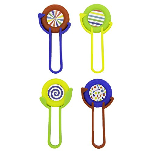 Unique Party 84731 - Plastic Disc Shooter Party Bag Fillers, Pack of 4 from Unique Party