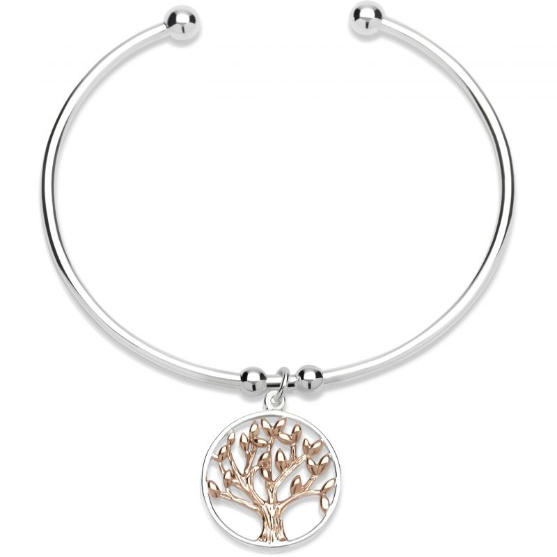 Ladies Unique & Co Sterling Silver Bangle from Unique & Co