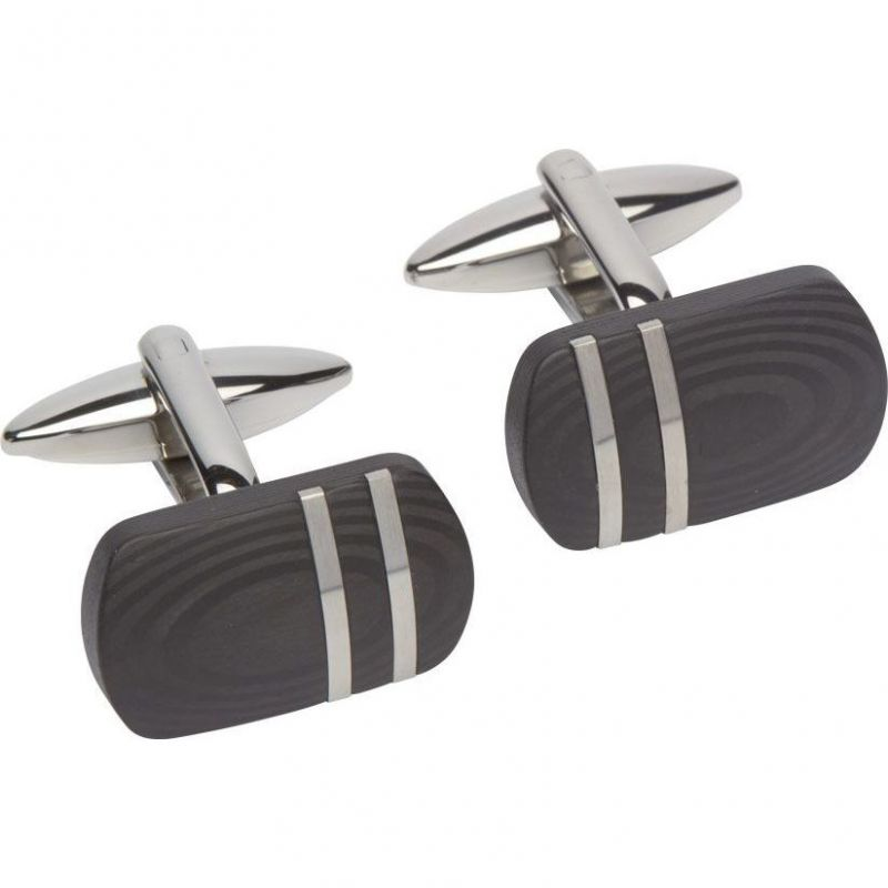 Mens Unique & Co Stainless Steel Cufflinks from Unique & Co