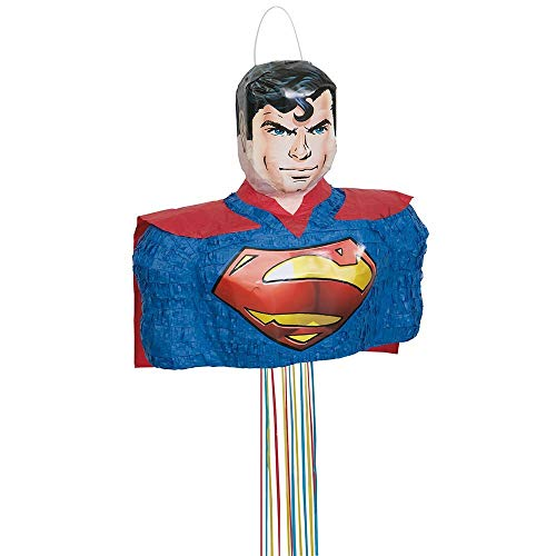 Unique Party Superman Pinata, Pull String from Unique Party