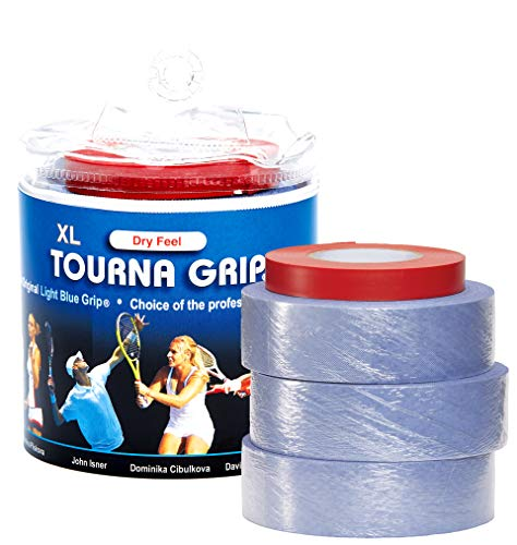 Unique Unisex's Tourna Tour Blau Overgrip (Pack of 30) -Blue, One Size/X-Large, OneSize from Unique