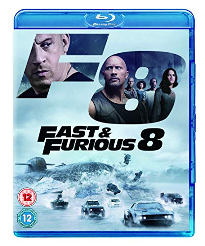 Fast & Furious 8 BD + digital download [Blu-ray] [2017] [Region Free] from Universal Pictures