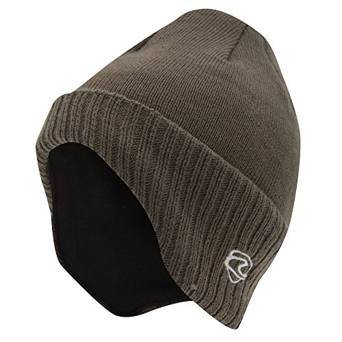 c7ee6ded45f Adults Unisex Thermal Knitted Winter Ski Winter Hat With Lining (shaped To  Cover Ears