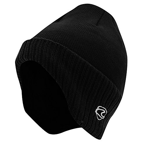 de1973c9872 Adults Unisex Thermal Knitted Winter Ski Winter Hat with Lining (shaped to  cover ears