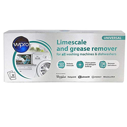 Limescale & Detergent Descaler 12 months supply for washing machine and dishwasher from Universal