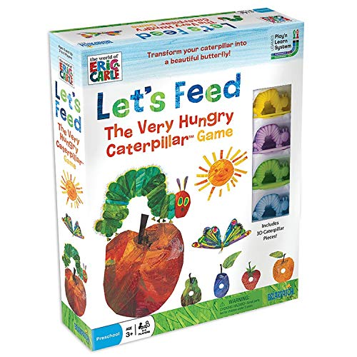Lets Feed the Hungry Caterpillar Game from Paul Lamond Games